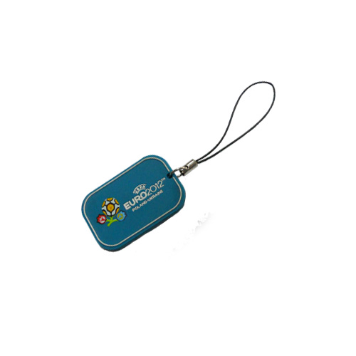 Soft PVC Mobile Phone Charm for Football Cup